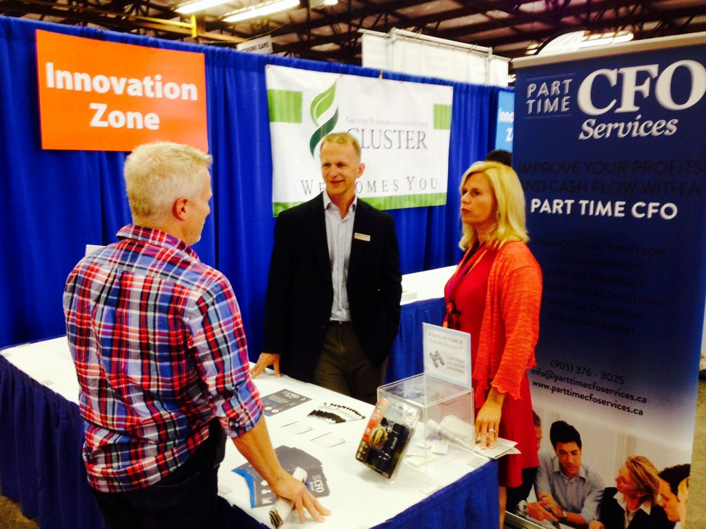 Cheri consults at the Innovation Cluster's Innovation Zone