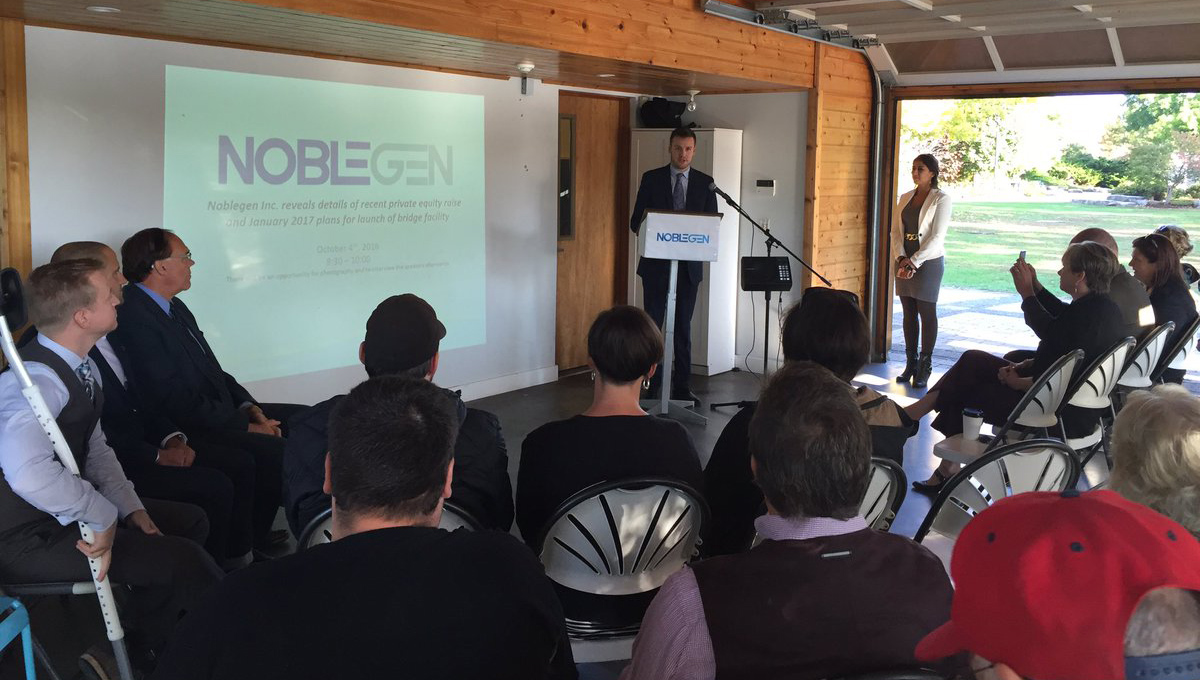NobleGen announces raise funding
