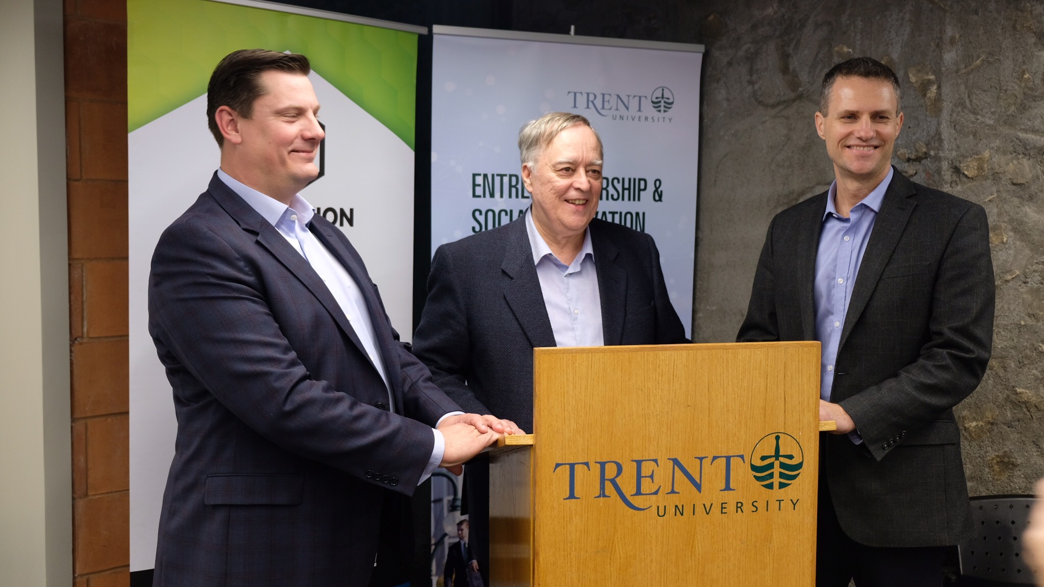 Innovation Cluster and Trent University Celebrate New Entrepreneurship & Social Innovation Centre With Open House and Event Announcement