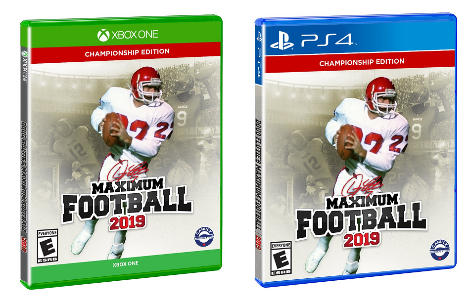 Local Game Developer's Maximum Football Title to Arrive at Wal-Mart, Amazon, and More Stores in Early 2020